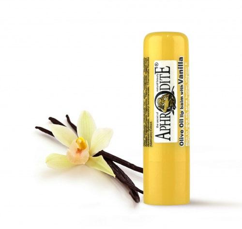 Aphrodite Гигиеническая губная помада с ванилью, 4 гFS-00897Сохраняет губы красивыми, свежими и здоровыми. С теплым ароматом ванили. Не содержит парабен, Не содержит глицерин. SPF 10