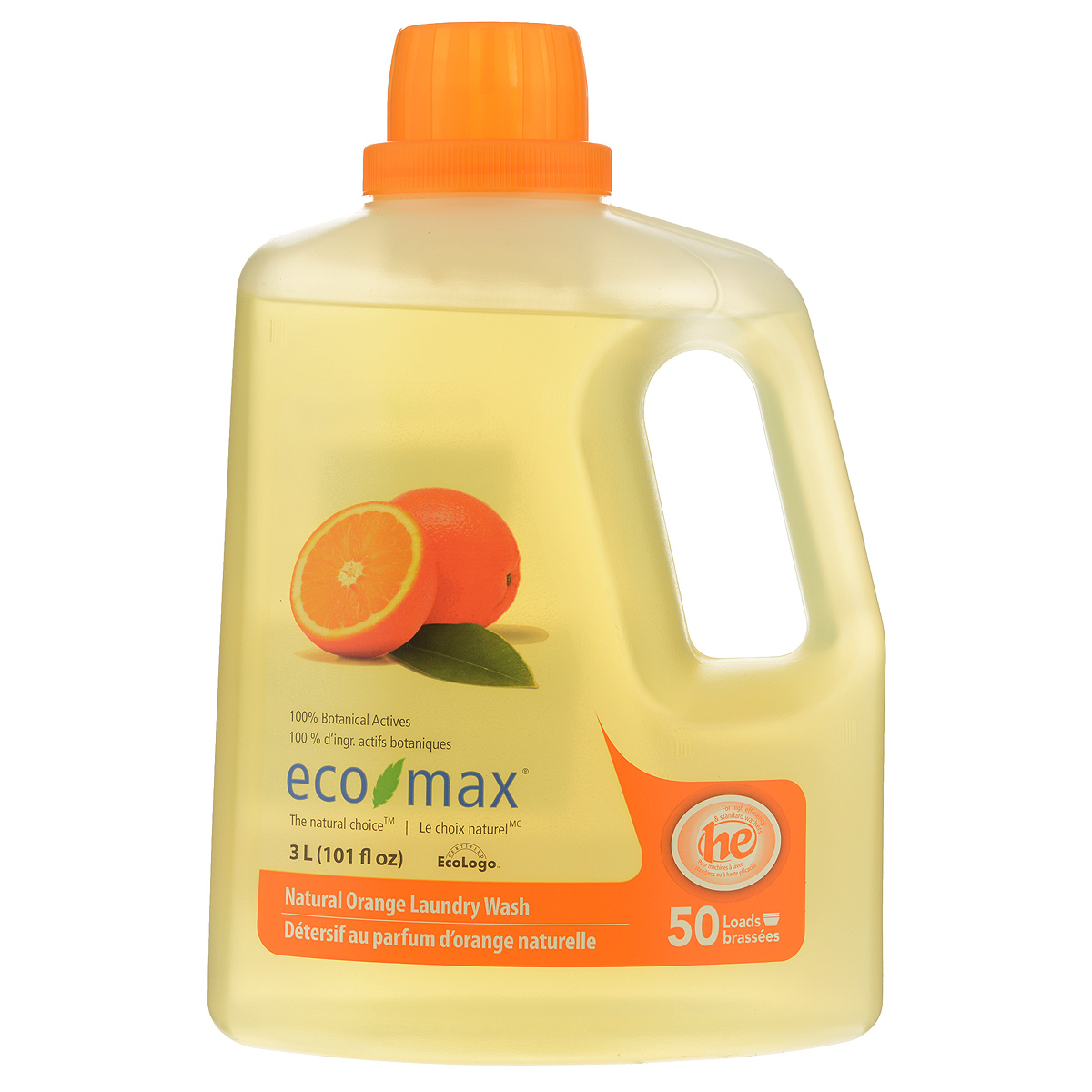 Жидкое средство для стирки Eco Max Апельсин, 3 л391602Жидкое средство для стирки Eco Max Апельсин - полностью натуральное, на растительной основе средство для стирки с освежающим ароматом апельсина. Благодаря низкому пенообразованию и отсутствию осадка безопасно для использования в стиральной машине. Нетоксично, без осадка, безопасно для детской одежды. В этом средстве используются активные чистящие вещества ингредиентов, полученных из биоразлагаемых и возобновляемых растительных источников. Подходит для ручной и машинной стирки, для всех типов ткани. Одного флакона хватает на 50 стирок. Состав: вода, ПАВ растительного происхождения, пищевая лимонная кислота, пищевой цитрат натрия, пищевой загуститель на основе целлюлозы и пищевой сорбат калия в качестве консерванта, натуральное эфирное апельсиновое масло. Товар сертифицирован.