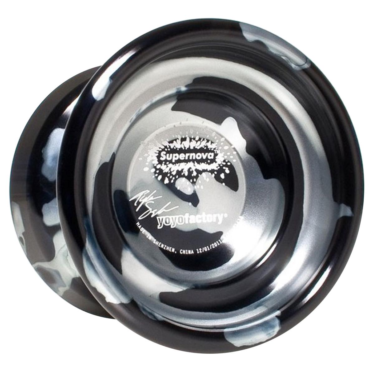 Йо-йо YoYoFactory Supernova, цвет: черный, серебристый supernova adidas