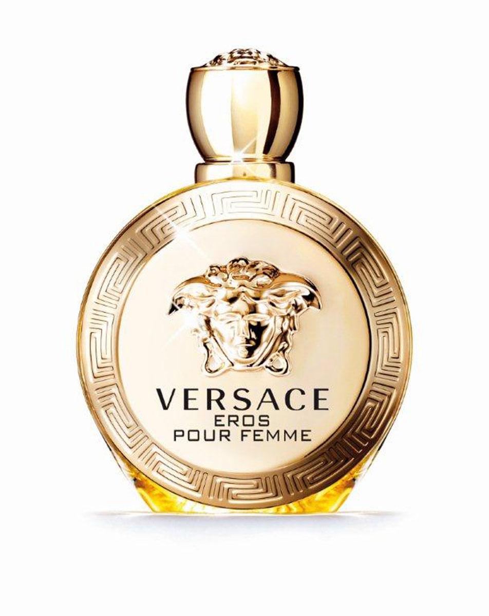 Versace Парфюмерная вода Eros Pour Femme, женская, 50 млGESS-701Новая легенда от Versace, повествующая о страсти. Бог любви Эрос встретил рожденную из воды прекрасную сирену и воспылал к ней любовью. Всепобеждающая власть женщины, заключенная в искрящемся и чувственном аромате. Созданный Донателлой Версаче, этот аромат излучает силу, индивидуальность и соблазн.Верхняя нота: Сицилийский лимон, Калабрийский бергамот, Гранат.Средняя нота: Цветок лимона, Абсолю жасмина Самбак, Эссенция жасмина, Пион.Шлейф: Сандаловое дерево, Амброксан, Мускус, Чувственные древесные ноты.Цветочный древесный мускусный.Всепобеждающая власть женщины, заключенная в искрящемся и чувственном аромате. Созданный Донателлой Версаче, этот аромат излучает силу, индивидуальность и соблазн.