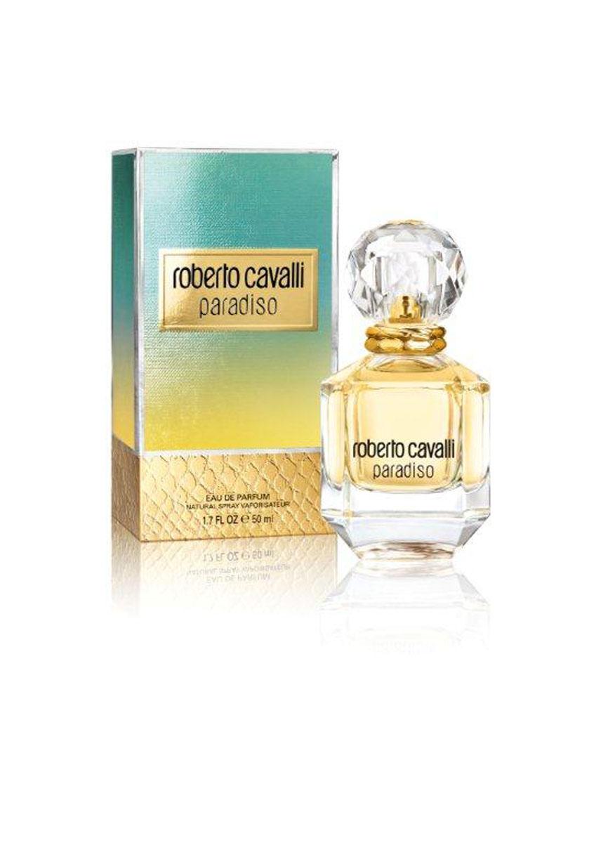 Roberto Cavalli Парфюмерная вода Paradiso, женская, 50 мл1301210Paradiso - яркий, жизнерадостный и солнечный цветочно-древесный женский аромат, выпущенный итальянским брендом Roberto Cavalli в 2015 году. Аромат увлекает в другой мир - земной рай, наполненный захватывающими ощущениями и чувственными наслаждениями, в импровизированную экскурсию по средиземноморскому побережью, с его теплым песком, роскошными белоснежными виллами и восхитительными садами. Духи дарят поцелуй воды и ощущение солнца на коже, мимолетный аромат жасмина и восхитительный полет разноцветных птиц в небе. Верхние ноты композиции искрятся свежестью цитрусовых нот бергамота и солнечного мандарина. Постепенно ему на смену приходит волнующий, терпковато-медовый аромат жасмина. Завершает звучание парфюма мягкий, теплый аромат пряно-хвойного кипариса, чуть дымный запах сосны пинии и пряный запах розового лавра.Верхняя нота: Бергамот, Мандарин.Средняя нота: Жасмин.Шлейф: Кипарис, Лавр, Сосна.Утонченный цветочно-лесной аромат стал симфонией солнечных нот, навеянных итальянскими пейзажами.Дневной и вечерний аромат.