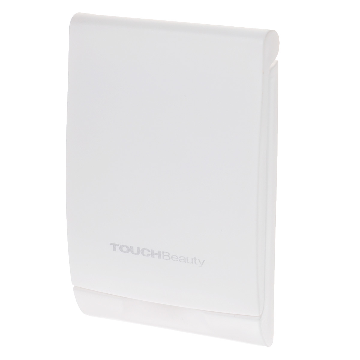 """Touchbeauty Компактное двойное зеркало, с подсветкой. AS-0508SC-FM20101Складное косметическое зеркало в пластиковом корпусе. Двукратное увеличение одной из сторон, сенсорная LED-подсветка. Ультратонкий стильный дизайн, стойкая к царапинам поверхность. Подсветка работает от 2 батареек типа """"CR2025"""" (входят в комплект).Товар сертифицирован."""