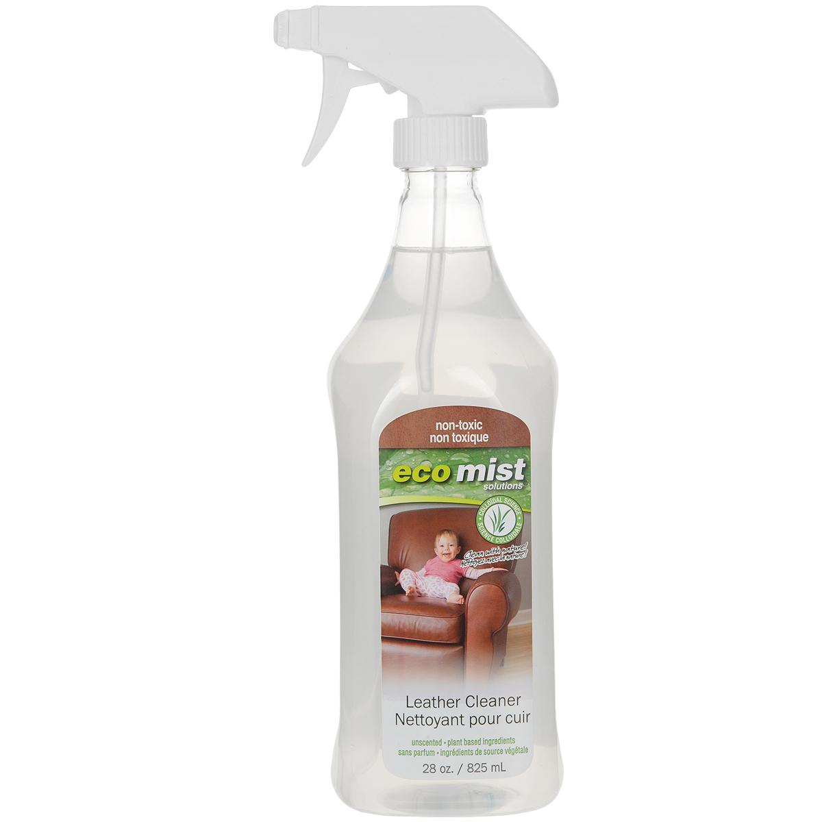 Средство для чистки натуральной кожи Eco Mist, 825 мл787502Известно,что очень сложно почистить профессионально в домашних условиях кожаную цветную мебель, т.к химические компоненты могут негативно сказаться на цвете, а также требуется дополнительное средство для пропитки. Инновационная формула средства Eco Mist на водной основе эффективно очищает, защищает от повторного загрязнения. Мебель приобретает первоначальный ухоженный и чистый вид.Состав: дехлорированная вода, экстракт зерновых, древесный сок, экстракт кукурузы, экстракт картофеля.