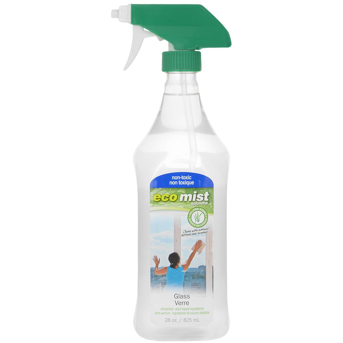 Средство для мытья стекол Eco Mist, 825 мл787502Моющее средство Eco Mist, не оставляющее разводов! Используется для мойки окон, зеркал и других стеклянных поверхностей. Может быть также использовано для очистки хромированных и металлических предметов. Средство идеально подходит для людей с чувствительной кожей. Не токсично. Без запаха. Идеальное средство для зеркал, автомобильного стекла и пластиковыхпанелей. Состав: дехлорированная вода, сахарный тростник, переработанный экстракт кокоса.