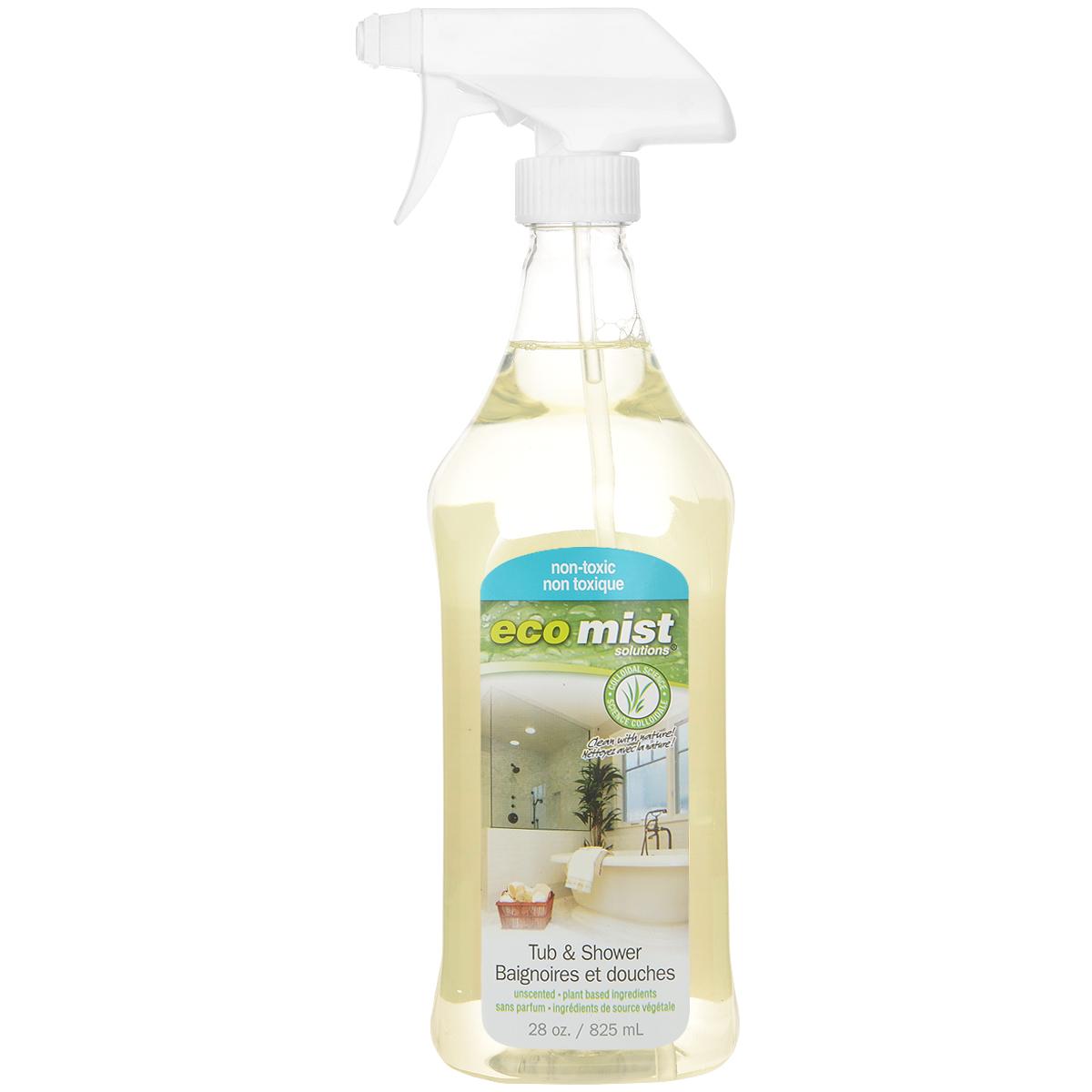Средство для чистки ванн и душевых кабин Eco Mist, 825 мл68/5/1Средство Eco Mist предназначено для очистки ванн, душевых кабин/дверей, плитки, раковин, унитазов, а также для удаления мыльной пены, плесени и грибков. Дезинфицирует поверхность, нейтрализует неприятные запахи. Поверхность приобретает необыкновенную чистоту и блеск. Состав: дехлорированная вода, экстракт зерна, древесный сок, экстракт кукурузы, экстракт картофеля, сахарный тростник.