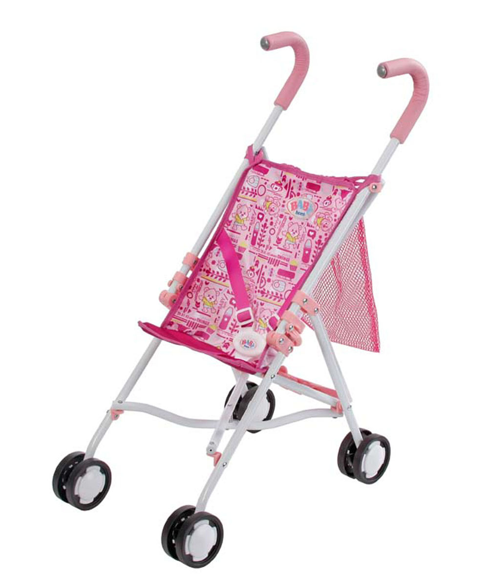Baby Born Транспорт для кукол Коляска-трость для куклы с сеткой коляска для кукол baby born прогулочная