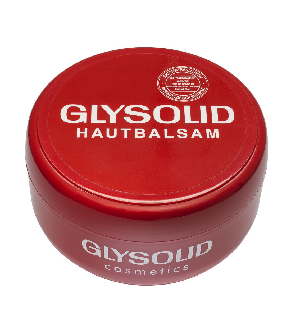 Glysolid Бальзам для кожи рук 200 млFS-00897Бальзам для кожи Glysolid - быстрая помощь для потрескавшейся и сухой кожи. Glysolid питает, заживляет раны, поддерживает регенерацию кожи, одновременно защищая ее. Без запаха. Гипоаллергенен. При регулярном применении быстро и надолго улучшит состояние Вашей кожи. Для всей семьи на каждый день. Подходит для детей с первых дней жизни и людям с заболеваниями кожного покрова. Без консервантов, красителей, парабенов, дерматологически протестирован.