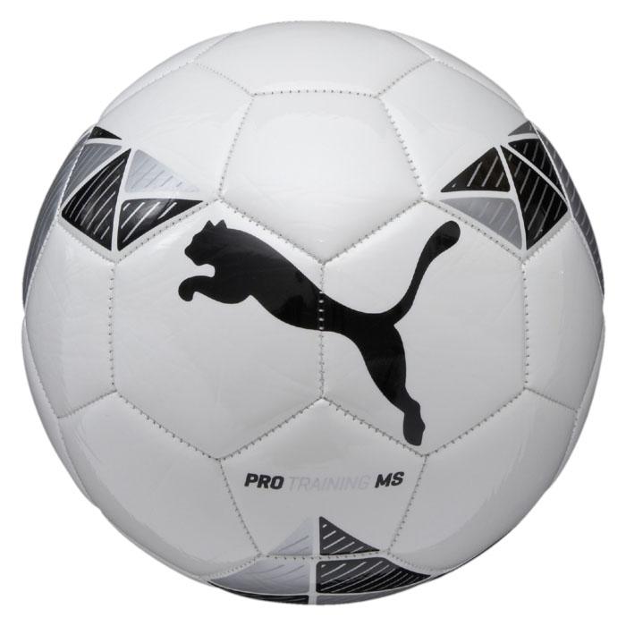 Мяч футбольный Puma  Pro Training MS ball , цвет: белый, черный. Размер 5 - Футбол