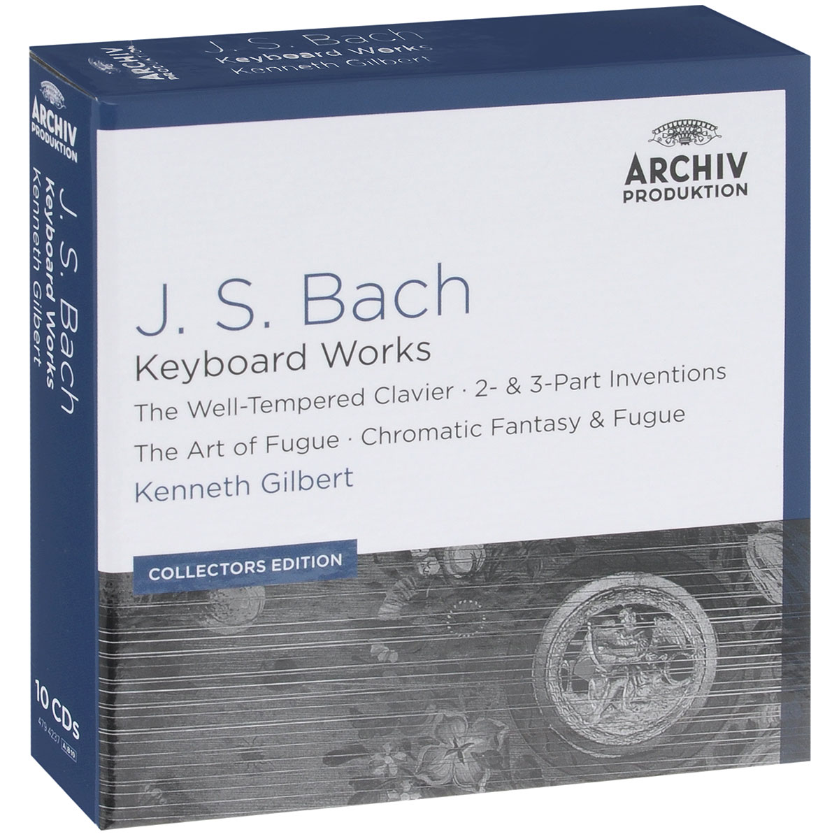 Кеннет Гилберт,Тревор Пиннок,Ларс Мортенсен,Николас Крэмер J.S. Bach. Keyboard Works. Kenneth Gilbert. Collectors Edition (10 CD) staccato st029ebptj51