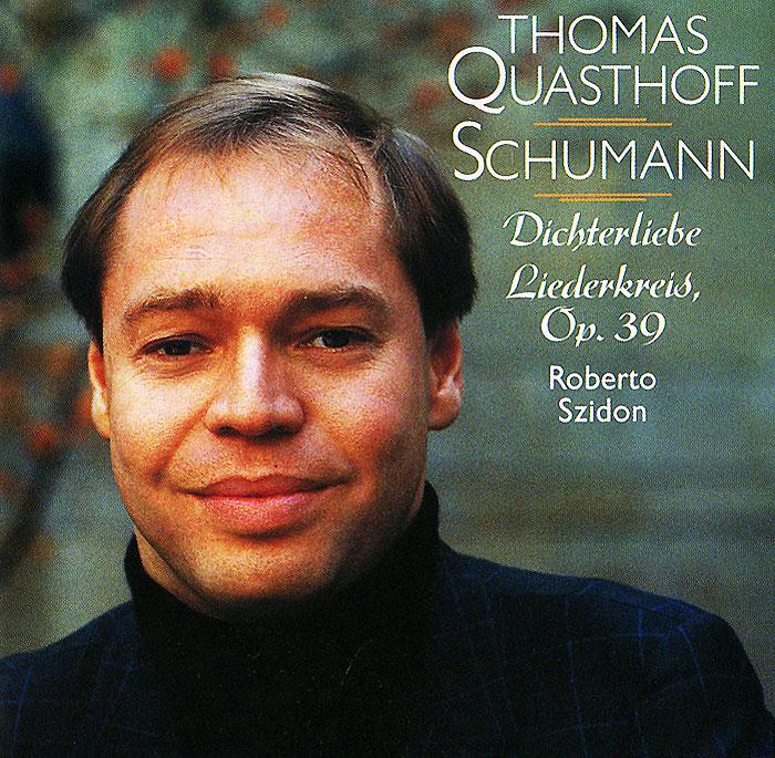 Thomas Quasthoff. Roberto Szidon. Schumann. Dichterliebe Liederkreis, Op. 39