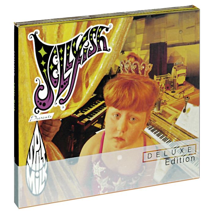 Jellyfish Jellyfish. Spilt Milk. Deluxe Edition (2 CD) jellyfish jellyfish spilt milk deluxe edition 2 cd