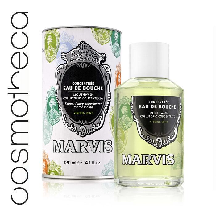 Marvis Ополаскиватель - концентрат для полости рта Мята 120 млDB4010(DB4.510)/голубой/розовыйОполаскиватель - концентрат для полости рта Мята 120 мл