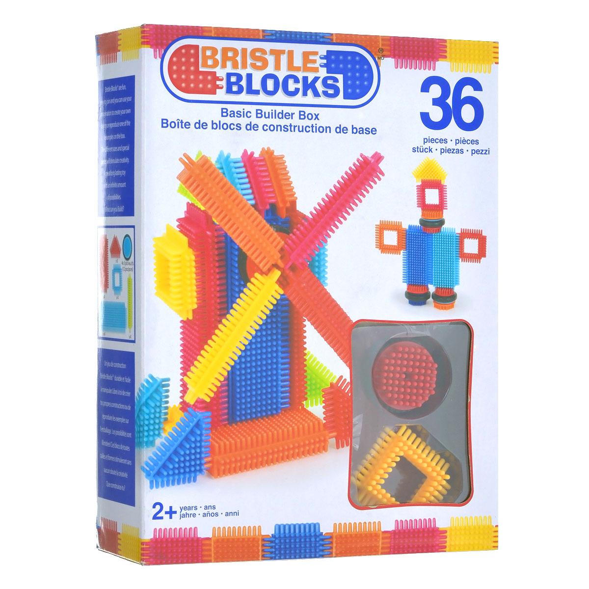 Battat Конструктор игольчатый Bristle Blocks аппликатор кузнецова игольчатый