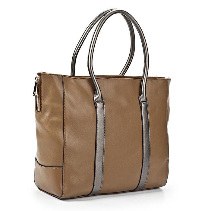 Сумка женская Renee Kler, цвет: песочный. RK121-04S76245Изысканная женская сумка Renee Kler изготовлена из искусственной кожи, оформлена прострочками и декоративными молниями по бокам. Изделие закрывается на удобную застежку-молнию. Внутри - одно вместительное отделение, несколько накладных карманчиков для мелочей, телефона, втачной карман на застежке-молнии и врезной карманчик на застежке-молнии. Задняя сторона сумки дополнена втачным карманом на застежке-молнии.Роскошная сумка внесет элегантные нотки в ваш образ и подчеркнет ваше отменное чувство стиля.