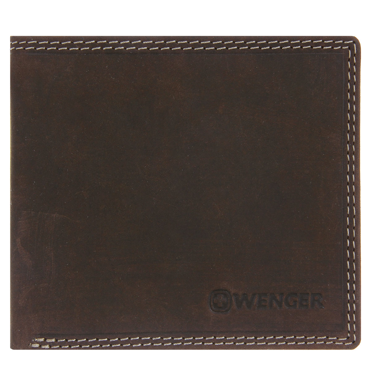 Портмоне мужское Wenger, цвет: коричневый. W5-09INT-06501Изысканное мужское портмоне Wenger изготовлено из натуральной кожи и оформлено декоративной прострочкой, тиснениями в виде названия и логотипа бренда на лицевой стороне. Внутри - два отделения для купюр, отсек для мелочи на замке-кнопке, два боковых кармана и четыре прорези для визиток и банковских карт. Изюминка модели - перекидной блок, который содержит четыре прорези и сетчатый карман.Изделие упаковано в фирменную коробку.Модное портмоне Wenger придется по душе истинному ценителю прекрасного.По всем вопросам гарантийного и постгарантийного обслуживания рюкзаков, чемоданов, спортивных и кожаных сумок, а также портмоне марок Wenger и SwissGear вы можете обратиться в сервис-центр, расположенный по адресу: г. Москва, Саввинская набережная, д.3. Тел: (495) 788-39-96, (499) 248-56-56, ежедневно с 9:00 до 21:00. Подробные условия гарантийного обслуживания приведены в гарантийном талоне, поставляемым в комплекте с каждым изделием. Бесплатный ремонт изделий производится при условии предоставления гарантийного талона и товарного/кассового чека, подтверждающего дату покупки.