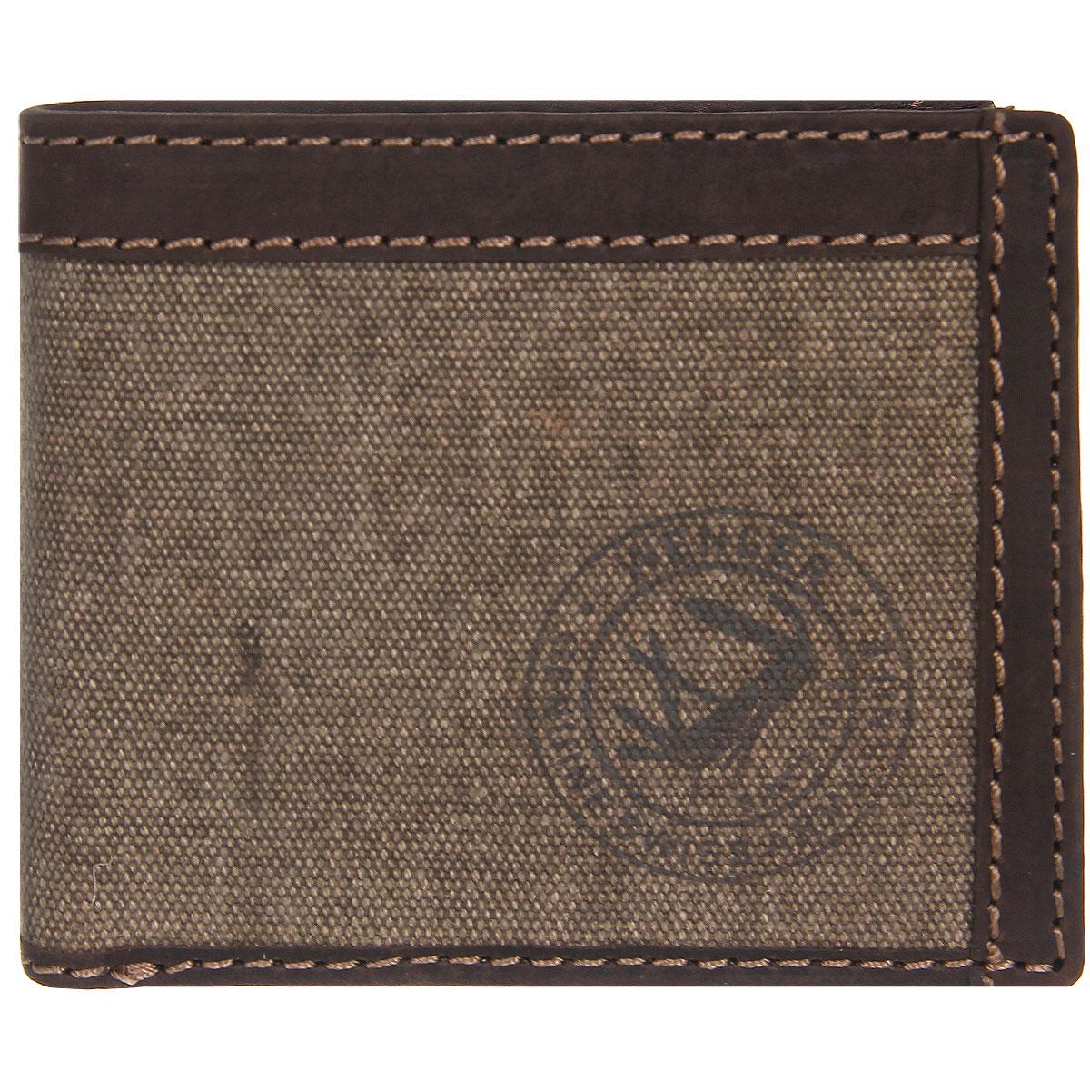 Портмоне мужское Wenger, цвет: коричневый. W19-05BP-001 BKТрендовое мужское портмоне Wenger изготовлено из натуральной кожи и текстиля и оформлено светлой прострочкой, а также логотипом бренда на лицевой стороне. Внутри - два отделения для купюр, отсек для мелочи на кнопке, врезной карман на застежке-молнии и два боковых кармана. Откидной блок, закрывающийся хлястиком на кнопку, содержит девять прорезей для визиток и кредитных карт и два кармана с окошком из прозрачного пластика. Внутренняя поверхность портмоне отделана твилом с узором гусиная лапка.Портмоне упаковано в фирменную коробку.Модное портмоне Wenger займет достойное место среди вашей коллекции аксессуаров. По всем вопросам гарантийного и постгарантийного обслуживания рюкзаков, чемоданов, спортивных и кожаных сумок, а также портмоне марок Wenger и SwissGear вы можете обратиться в сервис-центр, расположенный по адресу: г. Москва, Саввинская набережная, д.3. Тел: (495) 788-39-96, (499) 248-56-56, ежедневно с 9:00 до 21:00. Подробные условия гарантийного обслуживания приведены в гарантийном талоне, поставляемым в комплекте с каждым изделием. Бесплатный ремонт изделий производится при условии предоставления гарантийного талона и товарного/кассового чека, подтверждающего дату покупки.