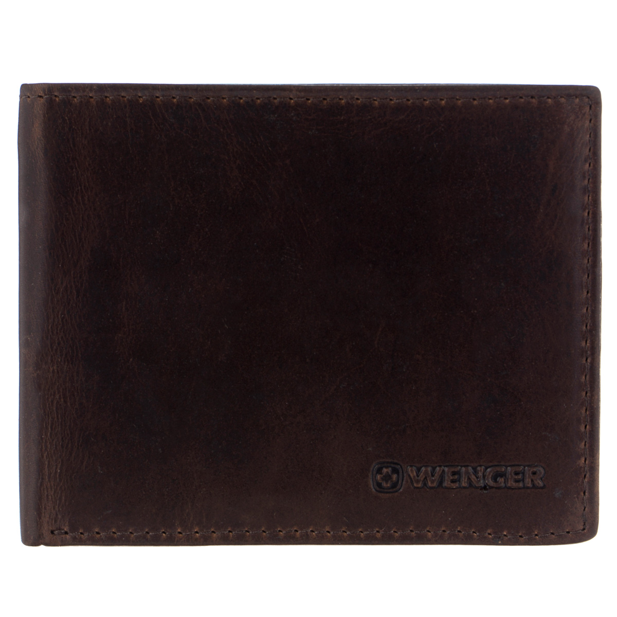 Портмоне мужское Wenger, цвет: коричневый. W7-041964195Изысканное мужское портмоне Wenger изготовлено из натуральной кожи и оформлено тиснениями в виде названия и логотипа бренда на лицевой стороне. Внутри - два отделения для купюр, отсек для мелочи на замке-кнопке, три боковых кармана и три прорези для банковских карт. Изюминка модели - откидной блок с боковым карманом, тремя прорезями и сетчатым карманом.Изделие упаковано в фирменную коробку.Модное портмоне Wenger займет достойное место среди вашей коллекции аксессуаров.По всем вопросам гарантийного и постгарантийного обслуживания рюкзаков, чемоданов, спортивных и кожаных сумок, а также портмоне марок Wenger и SwissGear вы можете обратиться в сервис-центр, расположенный по адресу: г. Москва, Саввинская набережная, д.3. Тел: (495) 788-39-96, (499) 248-56-56, ежедневно с 9:00 до 21:00. Подробные условия гарантийного обслуживания приведены в гарантийном талоне, поставляемым в комплекте с каждым изделием. Бесплатный ремонт изделий производится при условии предоставления гарантийного талона и товарного/кассового чека, подтверждающего дату покупки.