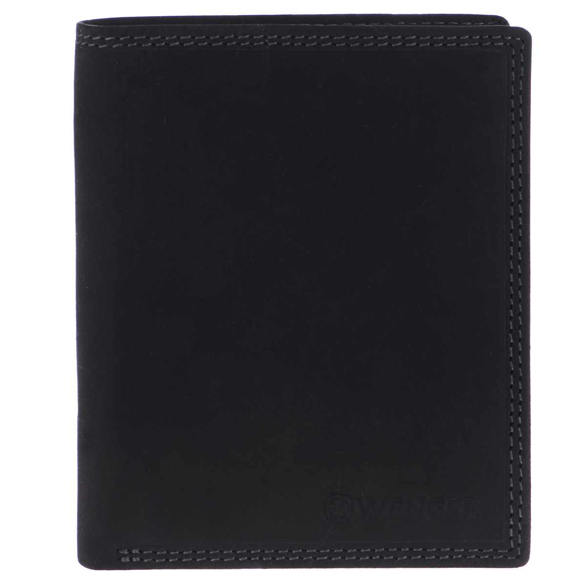 Портмоне мужское Wenger, цвет: черный. W5-02INT-06501Стильное мужское портмоне Wenger изготовлено из натуральной кожи и оформлено тиснениями в виде названия и логотипа бренда на лицевой стороне. Внутри - два отделения для купюр, отсек для мелочи на замке-кнопке, боковой карман и врезной карман на застежке-молнии. Изюминкой модели является то, что часть отсеков портмоне закрыто хлястиком на кнопку: три боковых кармана, сетчатый карман и восемь прорезей для визиток и кредитных карт.Портмоне упаковано в изысканную фирменную коробку.Модное портмоне Wenger не оставит равнодушным истинного ценителя прекрасного.По всем вопросам гарантийного и постгарантийного обслуживания рюкзаков, чемоданов, спортивных и кожаных сумок, а также портмоне марок Wenger и SwissGear вы можете обратиться в сервис-центр, расположенный по адресу: г. Москва, Саввинская набережная, д.3. Тел: (495) 788-39-96, (499) 248-56-56, ежедневно с 9:00 до 21:00. Подробные условия гарантийного обслуживания приведены в гарантийном талоне, поставляемым в комплекте с каждым изделием. Бесплатный ремонт изделий производится при условии предоставления гарантийного талона и товарного/кассового чека, подтверждающего дату покупки.