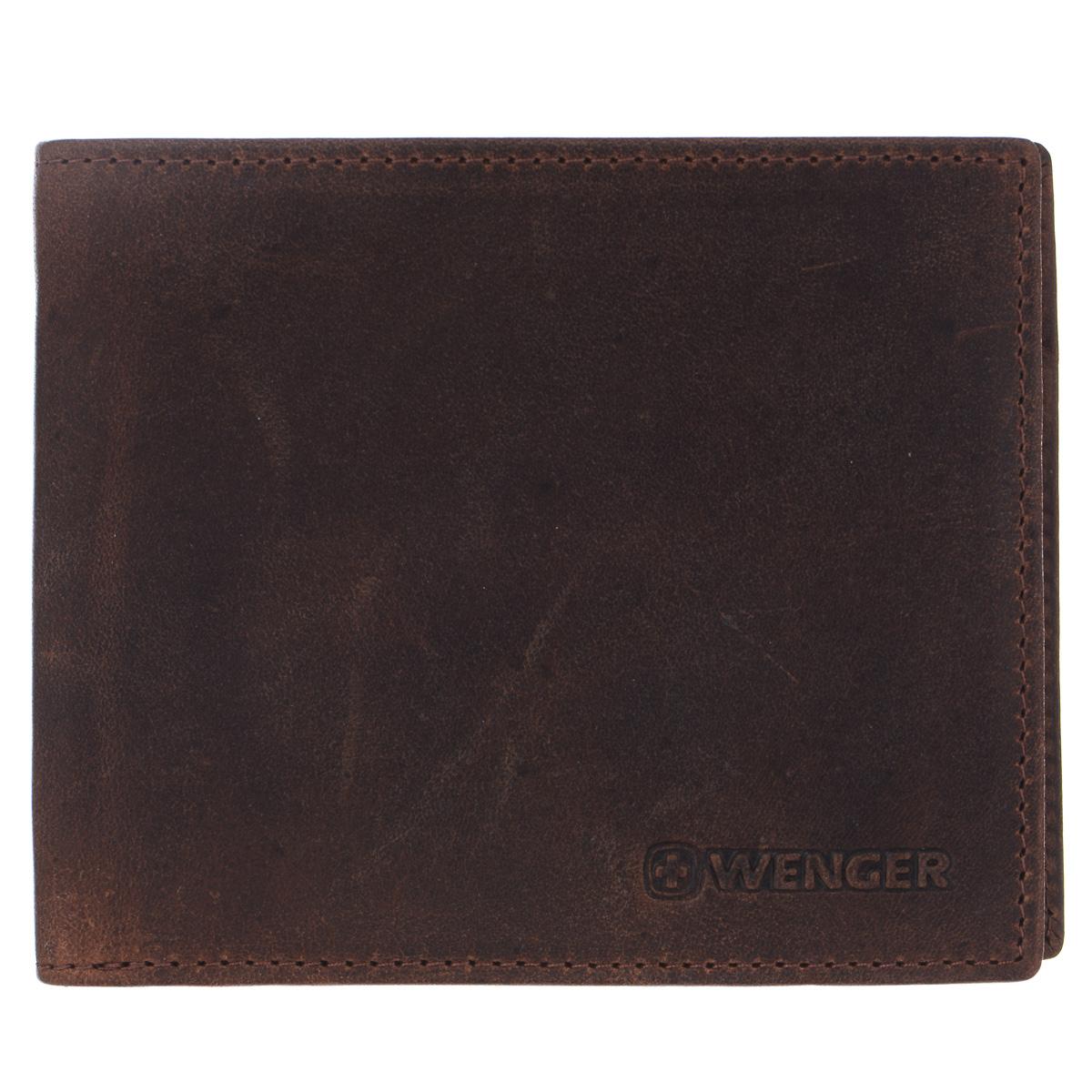 Портмоне мужское Wenger, цвет: коричневый. W7-05W16-11135_914Изысканное мужское портмоне Wenger изготовлено из натуральной кожи и оформлено тиснениями в виде названия и логотипа бренда на лицевой стороне. Внутри - два отделения для купюр, отсек для мелочи на замке-кнопке, пять боковых карманов и три прорези для визиток и банковских карт.Изделие упаковано в фирменную коробку.Модное портмоне Wenger займет достойное место среди вашей коллекции аксессуаров.По всем вопросам гарантийного и постгарантийного обслуживания рюкзаков, чемоданов, спортивных и кожаных сумок, а также портмоне марок Wenger и SwissGear вы можете обратиться в сервис-центр, расположенный по адресу: г. Москва, Саввинская набережная, д.3. Тел: (495) 788-39-96, (499) 248-56-56, ежедневно с 9:00 до 21:00. Подробные условия гарантийного обслуживания приведены в гарантийном талоне, поставляемым в комплекте с каждым изделием. Бесплатный ремонт изделий производится при условии предоставления гарантийного талона и товарного/кассового чека, подтверждающего дату покупки.
