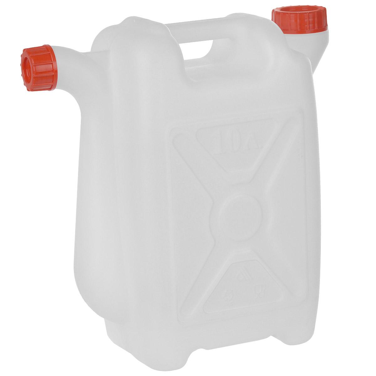 Канистра со сливом Альтернатива, 10 лBM-06-4Канистра Альтернатива на 10 литров, изготовленная из прочного пластика, несомненно, пригодится вам во время путешествия. Предназначена для переноски и хранения различных жидкостей. Канистра оснащена сливом. Диаметр горла: 3,7 см.