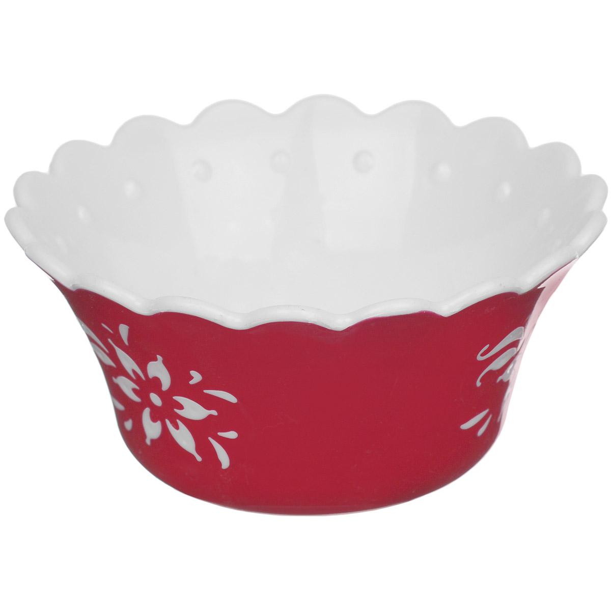 Емкость для варенья Альтернатива Премьера, цвет: красный, 10,5 см х 10,5 см х 9,2 смVT-1520(SR)Емкость для варенья Альтернатива Премьера выполнена из высококачественного пластика и оформлена узором. Емкость имеет прозрачную крышку и, несомненно, понравится любителям классического стиля.Такая емкость украсит ваш праздничный или обеденный стол, а яркое оформление понравится любой хозяйке.
