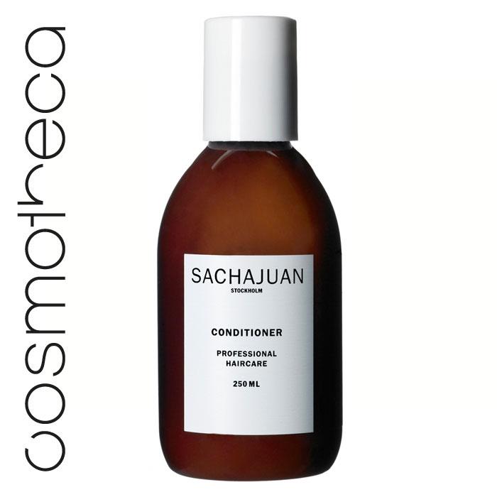 """Sachajuan Кондиционер для волос 250 мл0861-1-3946Кондиционер c технологией """"Морской шелк"""" великолепно смягчает волосы и облегчает их расчесывание. Специальная формула укрепляет структуру волос, делает их более упругими и придает шелковистый блеск."""