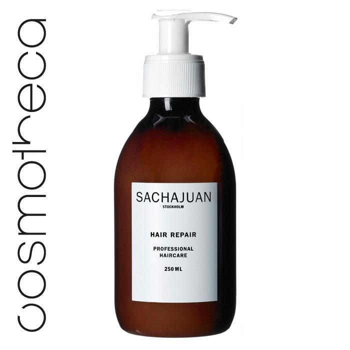 """Sachajuan Маска для волос восстанавливающая 250 млFS-00897Интенсивный уход для поврежденных и ослабленных волос с технологией """"Морской шелк"""" способствует регенерации клеток, наполняя их жизненной силой. Обеспечивает длительный эффект. Великолепно разглаживает волосы и делает их послушными, шелковистыми, блестящими и здоровыми."""