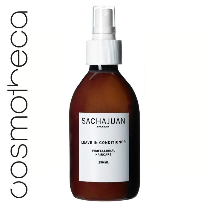 Sachajuan Кондиционер для волос несмываемый 250 мл0861-1-3953Легкий кондиционер, не содержащий масел, упрощает процесс укладки волос. Технология «Морской шелк» упрощает процесс расчесывания волос, придает им блеск и здоровый вид.