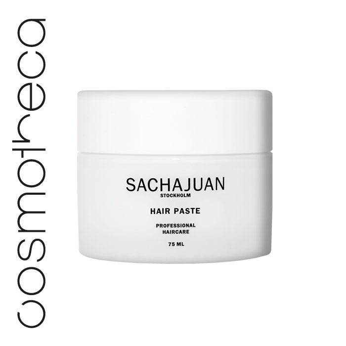 Sachajuan Паста для укладки волос 75 млОБ37Моделирующая паста SACHAJUAN – прекрасное средство для сильной фиксации, сохраняющее волосы эластичными, упругими, послушными и блестящими. Это идеальный выбор для создания любого вида укладки. Легко смывается.