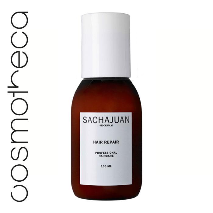 """Sachajuan Маска для волос восстанавливающая 100 мл65414142/8648549Интенсивный уход для поврежденных и ослабленных волос с технологией """"Морской шелк"""" способствует регенерации клеток, наполняя их жизненной силой. Обеспечивает длительный эффект. Великолепно разглаживает волосы и делает их послушными, шелковистыми, блестящими и здоровыми."""