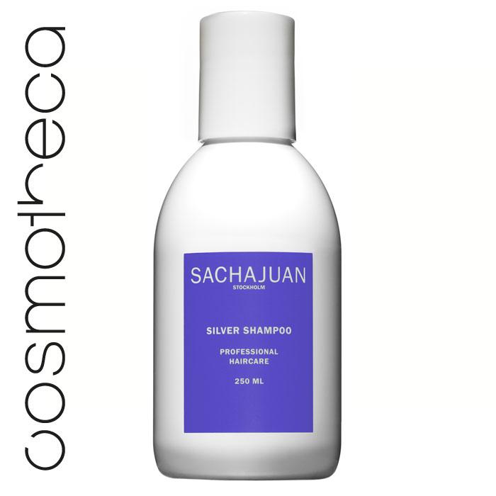 Sachajuan Шампунь для светлых волос 250 млAC-2233_серыйСеребристый шампунь насыщает волосы пигментом, который препятствует и нейтрализует проявление нежелательного желтого или золотистого оттенка. Он увеличивает объем, усиливает сияние волос и защищает их от ультрафиолетового излучения. Технология «Морской шелк» увлажняет волосы, дарит им блеск и упругость.