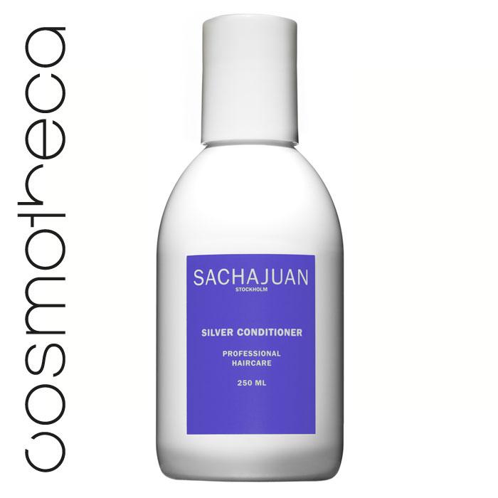 Sachajuan Кондиционер для светлых волос 250 млFS-00897Серебристый кондиционер насыщает волосы пигментом, который препятствует и нейтрализует проявление нежелательного желтого или золотистого оттенка. Он увеличивает объем, усиливает сияние волос и защищает их от ультрафиолетового излучения. Технология «Морской шелк» увлажняет волосы, дарит им блеск и упругость.