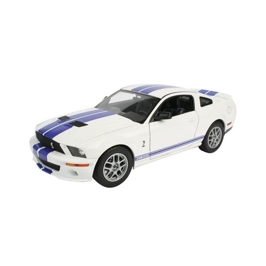 """С помощью сборной модели Revell """"Автомобиль Shelby GT 500"""" вы и ваш ребенок сможете собрать уменьшенную копию одноименного истребителя. Набор включает в себя 117 пластиковых элементов для сборки. Модель автомобиля Shelby GT 500 от фирмы Revell является уменьшенной копией одноименного американского автомобиля. Впервые произведен в 2007 году в США. Также в наборе схематичная инструкция по сборке. Модель отличается высокой степенью детализации как корпуса, так и внутренних элементов салона и двигателя. Капот поднимается, колесики автомобиля вращаются. Процесс сборки развивает интеллектуальные и инструментальные способности, воображение и конструктивное мышление, а также прививает практические навыки работы со схемами и чертежами. Уровень сложности: 3. УВАЖАЕМЫЕ КЛИЕНТЫ! Обращаем ваше внимание на тот факт, что элементы для сборки не покрашены. Клей и краски в комплект не входят."""