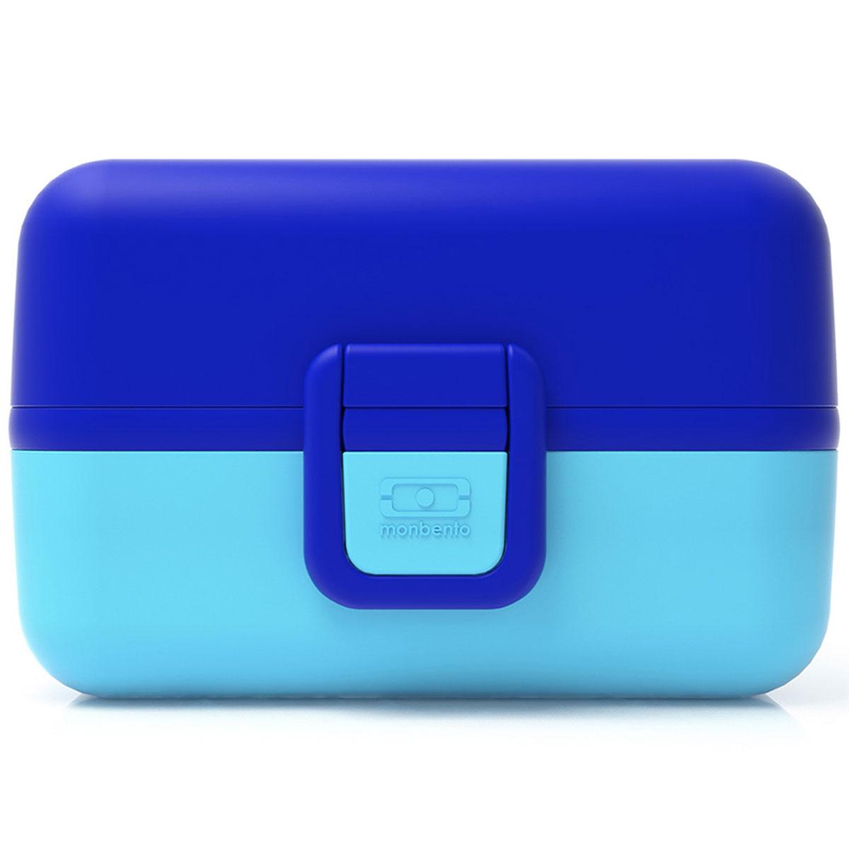 Ланчбокс Monbento Tresor, цвет: ежевичный, 900 мл21395599Ланчбокс Monbento Tresor изготовлен из высококачественного пищевого пластика. Предназначен для хранения и переноски пищевых продуктов. Ланчбокс плотно закрывается на две защелки. Внутри имеется большое прямоугольное отделение, которое закрывается крышечкой, и два квадратных контейнера с прозрачными крышками. Компактные размеры позволят хранить ланчбокс в любой сумке. Его удобно взять с собой на работу, отдых, в поездку. Теперь любимая домашняя еда всегда будет под рукой, а яркий дизайн поднимет настроение и подарит заряд позитива. Можно использовать в микроволновой печи и для хранения пищи в холодильнике, можно мыть в посудомоечной машине.Объем: 900 мл. Общий размер ланчбокса: 16 см х 9 см х 10 см. Размер квадратных контейнеров: 7,5 см х 7,5 см х 5 см.