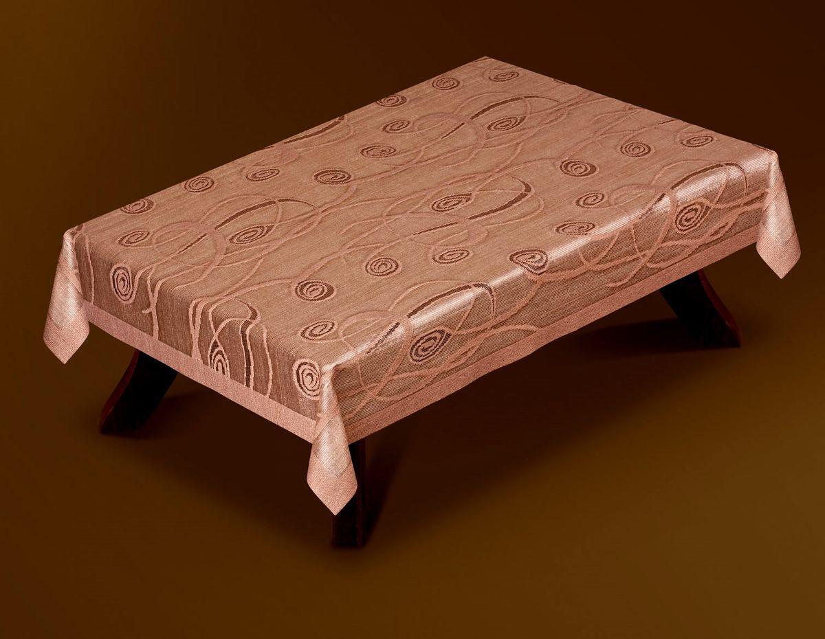 Скатерть Haft Gold Line, прямоугольная, цвет: шоколадный, 100x 150 см. 207380-100W14161386Великолепная прямоугольная скатерть Haft Gold Line, выполненная из полиэстера, органично впишется в интерьер любого помещения, а оригинальный дизайн удовлетворит даже самый изысканный вкус. Скатерть изготовлена из сетчатого материала с ажурным рисунком. Скатерть Haft Gold Line создаст праздничное настроение и станет прекрасным дополнением интерьера гостиной, кухни или столовой.