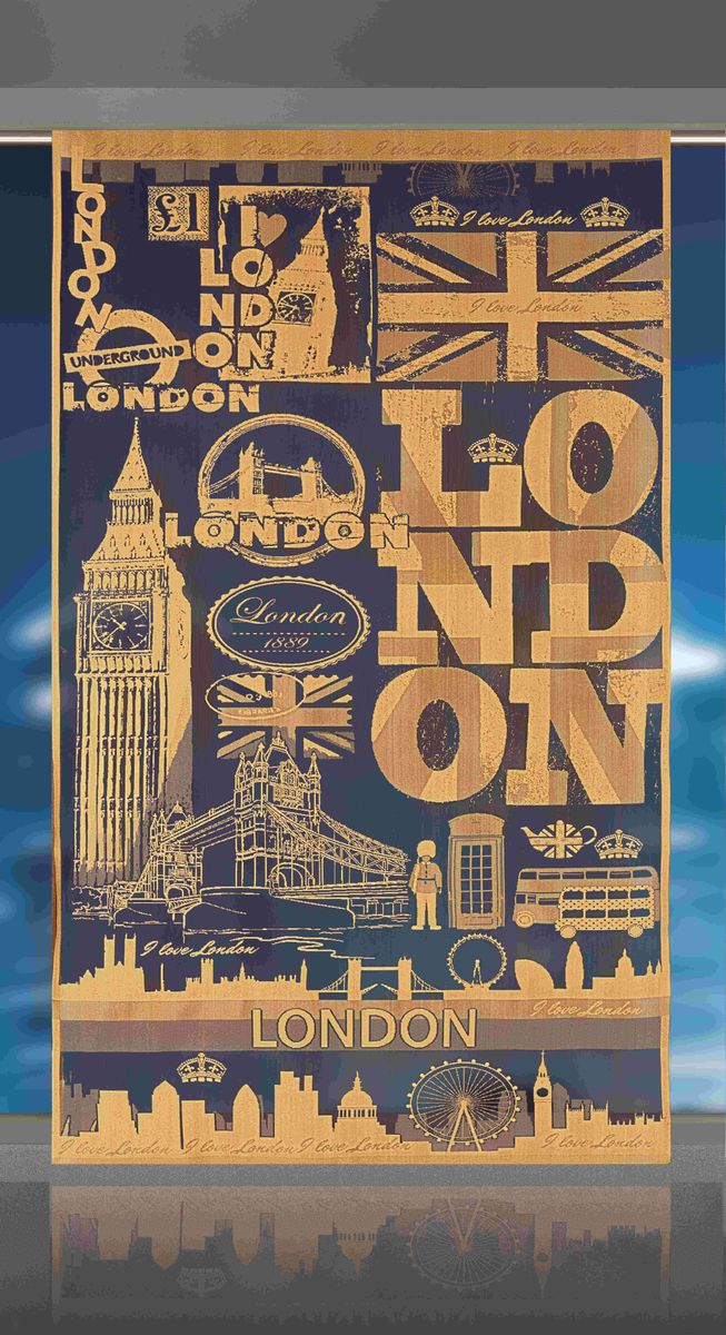 Гардина-панно Wisan London, цвет: коричневый, высота 240 смE112Воздушная гардина-панно Wisan London, изготовленная из полиэстера, станет великолепным украшением любого окна. Оригинальный принт в виде достопримечательностей Лондона и приятная цветовая гамма привлекут к себе внимание и органично впишутся в интерьер комнаты. Верхняя часть гардины не оснащена креплениями. Фирма Wisan на польском рынке существует уже более пятидесяти лет и является одной из лучших польских фабрик по производству штор и тканей. Ассортимент фирмы представлен готовыми комплектами штор для гостиной, детской, кухни, а также текстилем для кухни (скатерти, салфетки, дорожки, кухонные занавески). Модельный ряд отличает оригинальный дизайн, высокое качество. Ассортимент продукции постоянно пополняется.