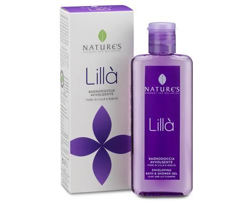 Nature's Гель для ванны и душа Lilla, 200 мл pediasure смесь со вкусом ванили с 12 месяцев 200 мл