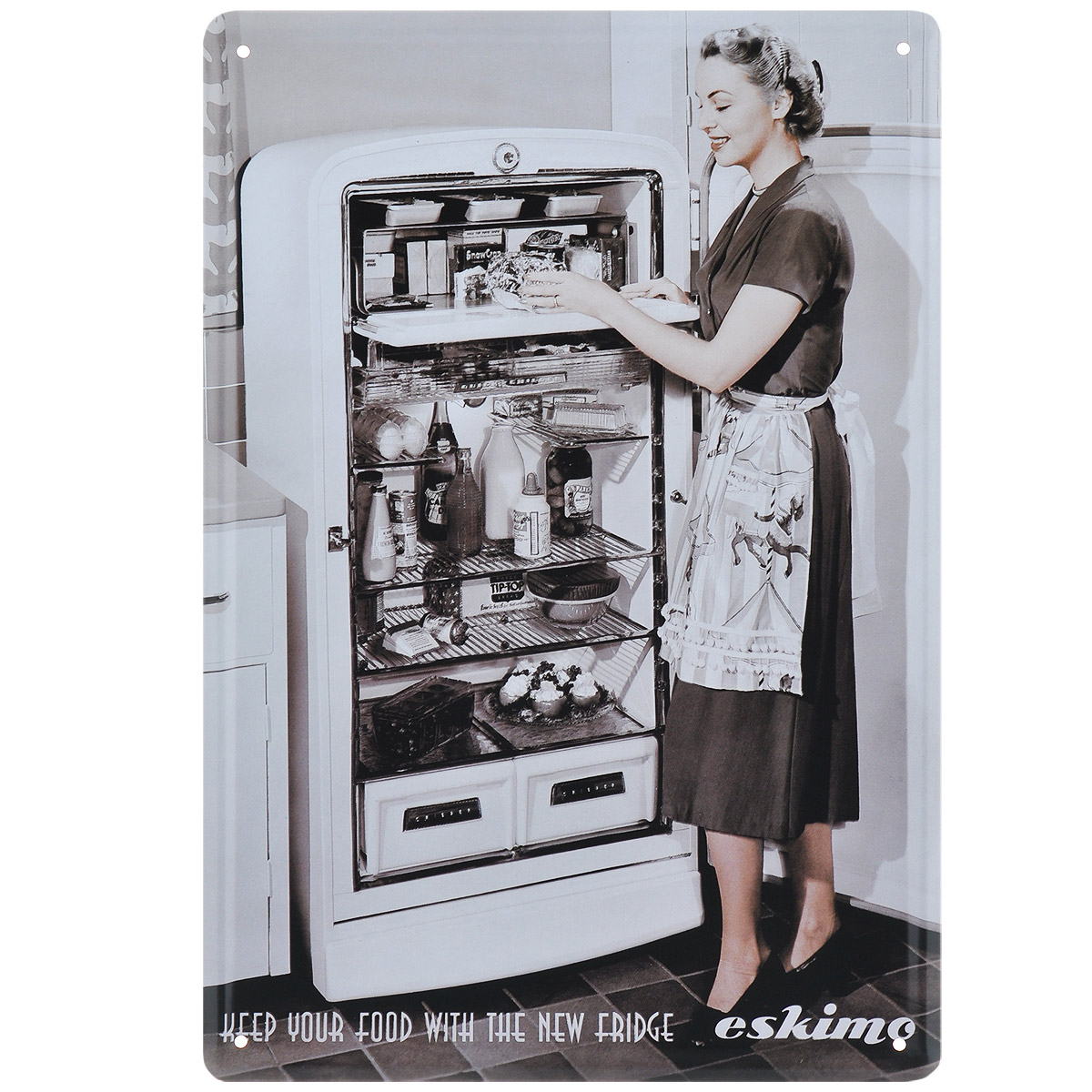 Постер Феникс-презент Холодильник, 20 х 30 см37433Постер Феникс-презент Холодильник выполнен из черного металла. На постере изображена девушка у открытого холодильника. Постер заинтересует всех любителей оригинальных вещиц и доставит массу положительных эмоций своему обладателю.Картина для интерьера (постер) - современное и актуальное направление в дизайне любых помещений.Постер может использоваться для оформления любых интерьеров:- дом, квартира (гостиная, спальня, кухня); - офис (комната переговоров, холл, кабинет); - бар, кафе, ресторан или гостиница. Из мелочей складывается стиль интерьера. Постер Феникс-презент Холодильник одна из тех деталей, которые придают интерьеру обжитой вид и создают ощущение уюта.