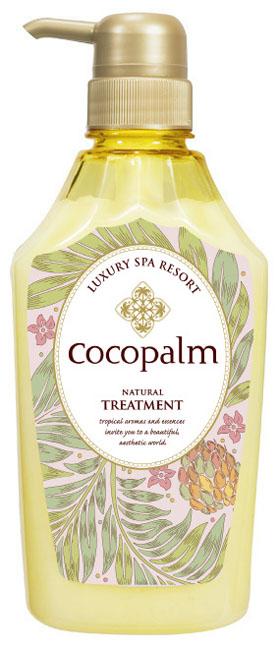 CocoPalm Кондиционер Luxury SPA Resort для оздоровления волос и кожи головы Cocopalm Natural Treatment  600 млMP59.4DИнтенсивно увлажняет и питает волосы, ухажива-ет за ослабленными волосами, восстанавливаетповрежденные, сухие и ломкие волосы, помогаетвернуть волосам здоровый и ухоженный вид, об-легчает расчесывание.