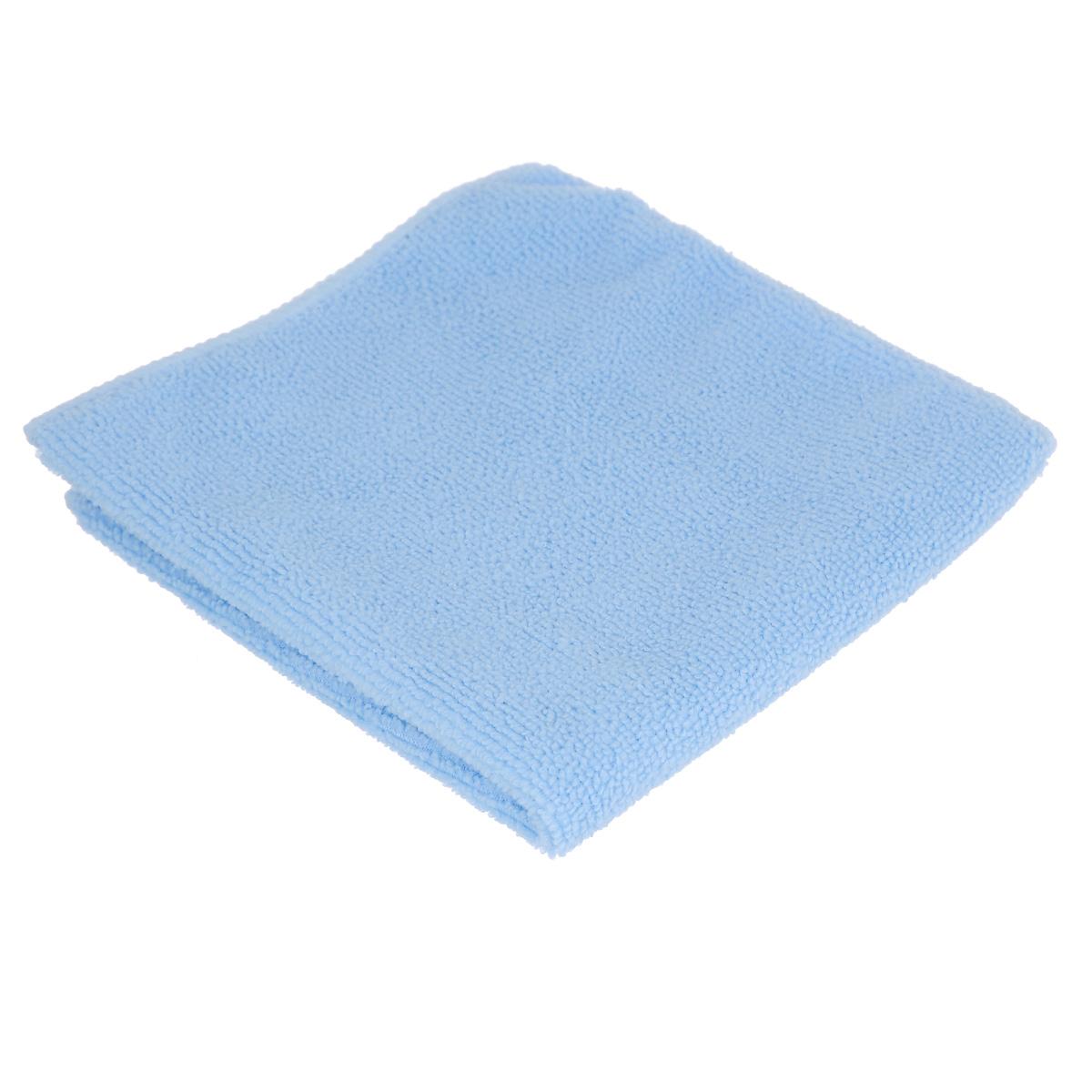 Салфетка для уборки Youll Love, цвет: голубой, 30 х 30 см234100Салфетка Youll Love, изготовленная из полиэфира, предназначена для очищения загрязнений на любых поверхностях. Изделие обладает высокой износоустойчивостью и рассчитано на многократное использование, легко моется в теплой воде с мягкими чистящими средствами. Супервпитывающая салфетка не оставляет разводов и ворсинок, удаляет большинство жирных и маслянистых загрязнений без использования химических средств. Размер салфетки: 30 см х 30 см.