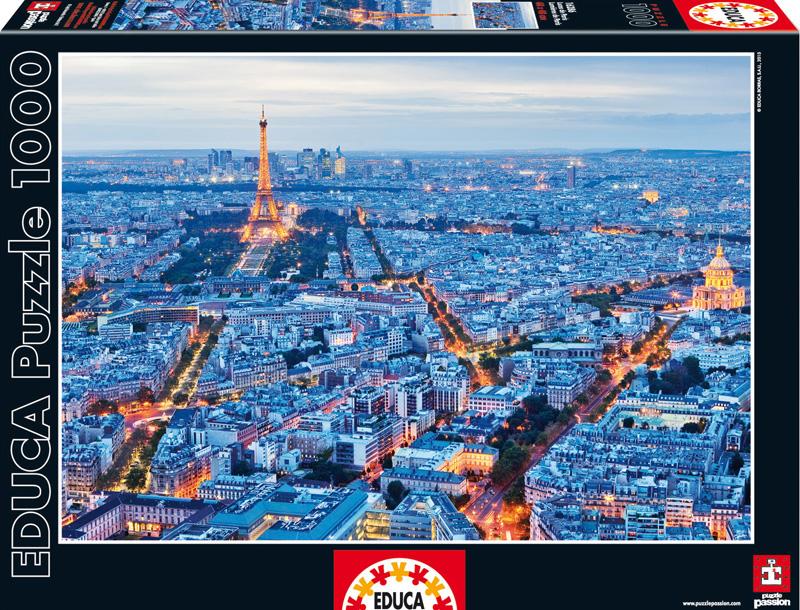Огни Парижа. Пазл, 1000 элементов