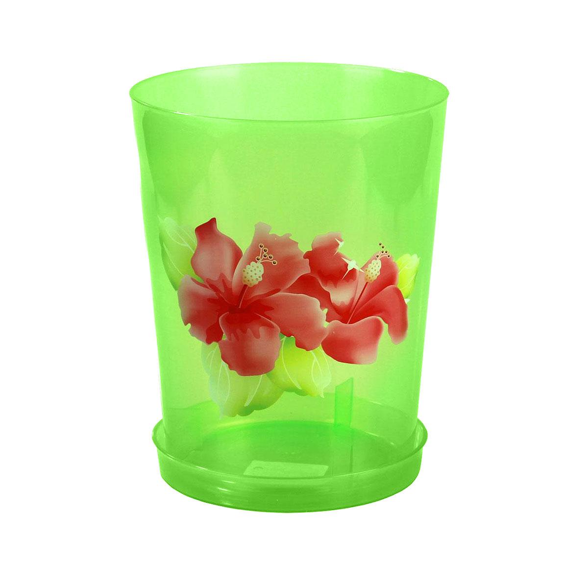 Горшок для орхидей Альтернатива, цвет: зеленый, 3,5 лL-0213Цветочный горшок Альтернатива выполнен из пластика и предназначен для выращивания в нем цветов, растений и трав.Такой горшок порадует вас современным дизайном и функциональностью, а также оригинально украсит интерьер помещения. К горшку прилагается поддон.