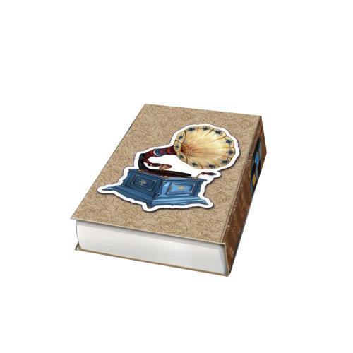 Декоративная шкатулка Граммофон, 17 см х 11 см х 5 см25051 7_зеленыйДекоративная шкатулка Граммофон - это стильная, оригинальная и удобная шкатулка, которая сделана из МДФ. Изделие предназначено для хранения мелочей. Данная модель очень удобна в использовании. Оригинальный дизайн делает шкатулку отличным подарком.