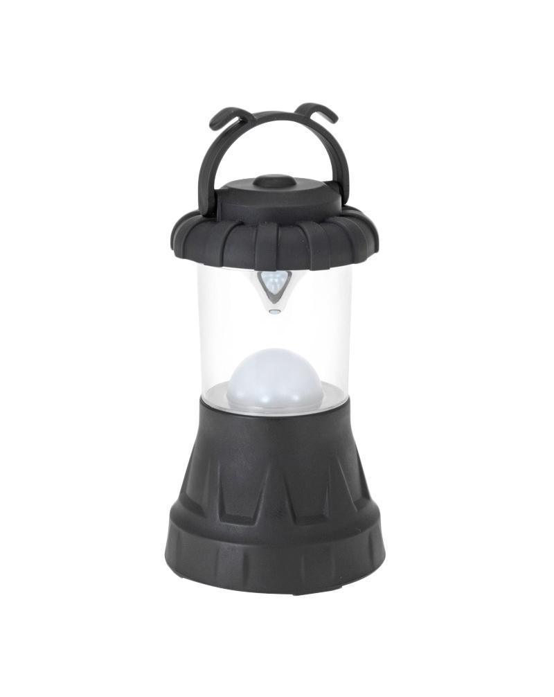 Кемпинговый фонарь FIT, 11 LEDK48Фонарь кемпинговый пластиковый. 11 светодиодов. Благодаря рассеивателю и зеркальному отражателю равномерно освещает окружающее пространство Характеристики: Материал: пластик. Размер фонаря: 16 см х 8,5 см х 8,5 см. Количество светодиодов: 11 шт. Питание: 3 батарейки тип АА (не входят в комплект) Размер упаковки: 16 см х 9 см х 9 см.