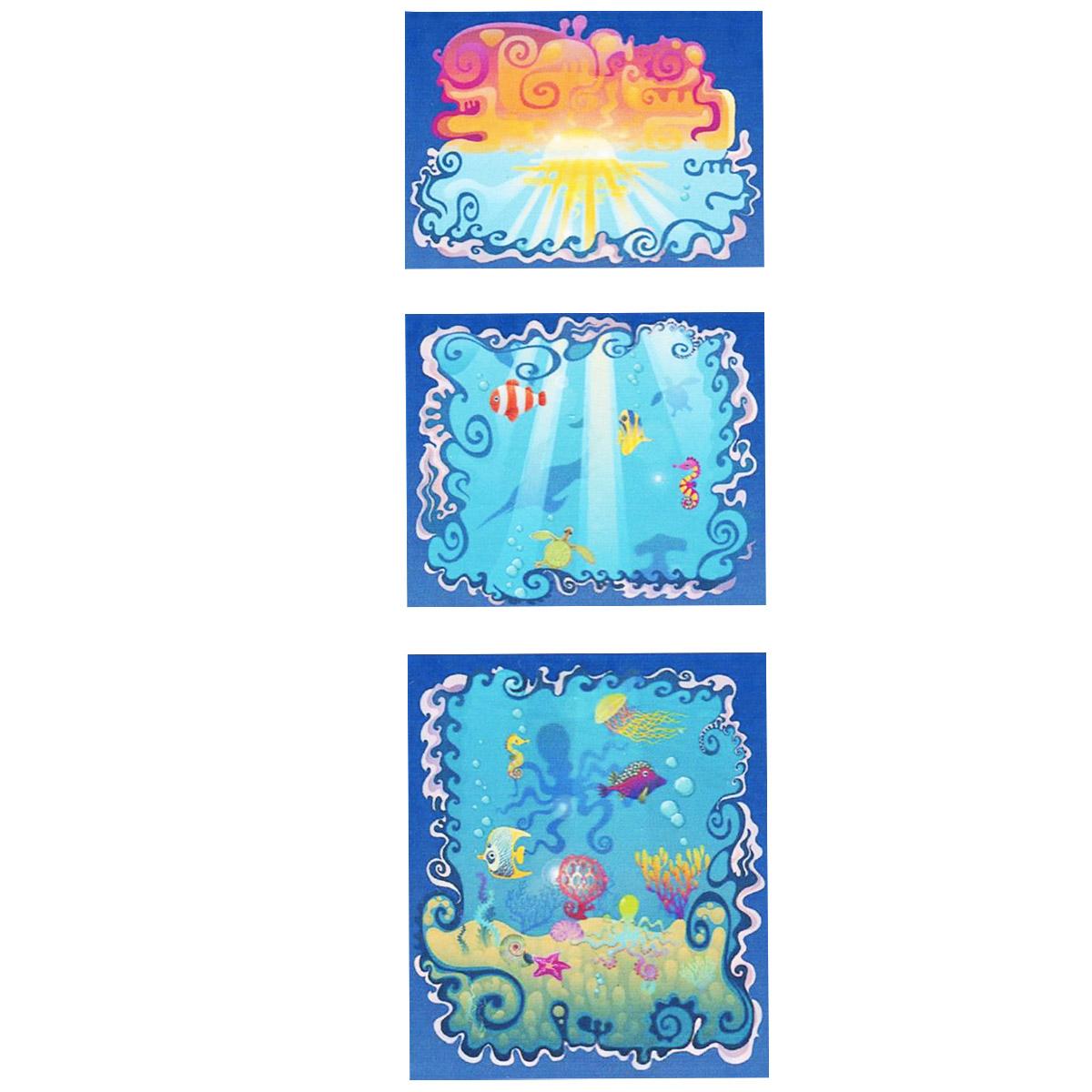 Модульная картина на холсте КвикДекор Тайны моря, 55 см х 156 см1327Модульная картина на холсте КвикДекор Тайны моря - это прекрасное решение для декора помещения. Картина состоит из трех частей (модулей) разного размера, объединенных общей тематикой. Изображение переходит из одного модуля в другой. Модули вешаются на расстоянии 2-3 см друг от друга.Латексная печать (без запаха) на натуральном х/б холсте, галерейная натяжка на деревянные подрамники из высококачественной сосны. Такая картина будет потрясающе смотреться в детской комнате. Она привнесет в интерьер яркий акцент и сделает обстановку комфортной и уютной. Яркие краски и интересное оформление обязательно понравятся вашему малышу. Картина в стрейч-пленке с защитными картонными уголками упакована в гофрокоробку с термоусадкой. Размер модулей: 55 см х 40 см (1 шт); 55 см х 45 см (1 шт); 55 см х 65 см (1 шт). Количество модулей: 3 шт. Общий размер картины: 55 см х 156 см. Художник: Анна Морозова, Ольга Парфенова.