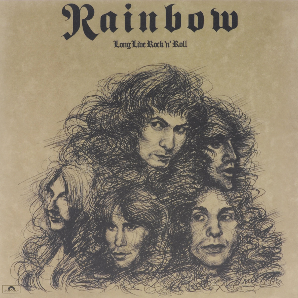 """Rainbow"" Rainbow. Long Live Rock 'N' Roll (LP)"