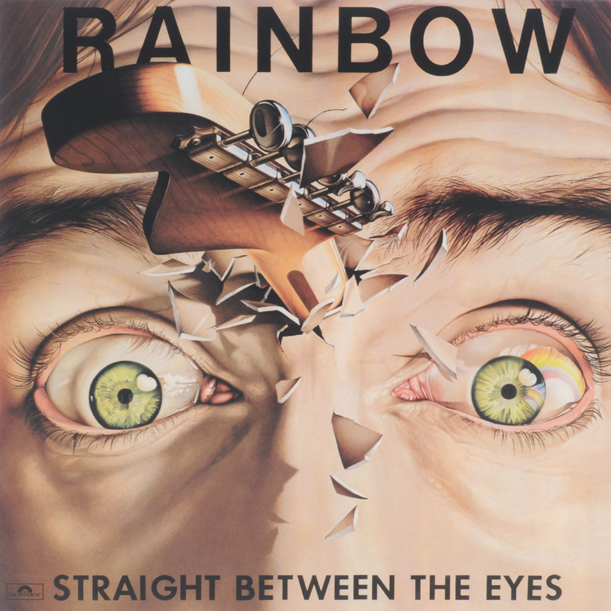 Rainbow Rainbow. Straight Between The Eyes (LP) вазы pavone ваза гибискус