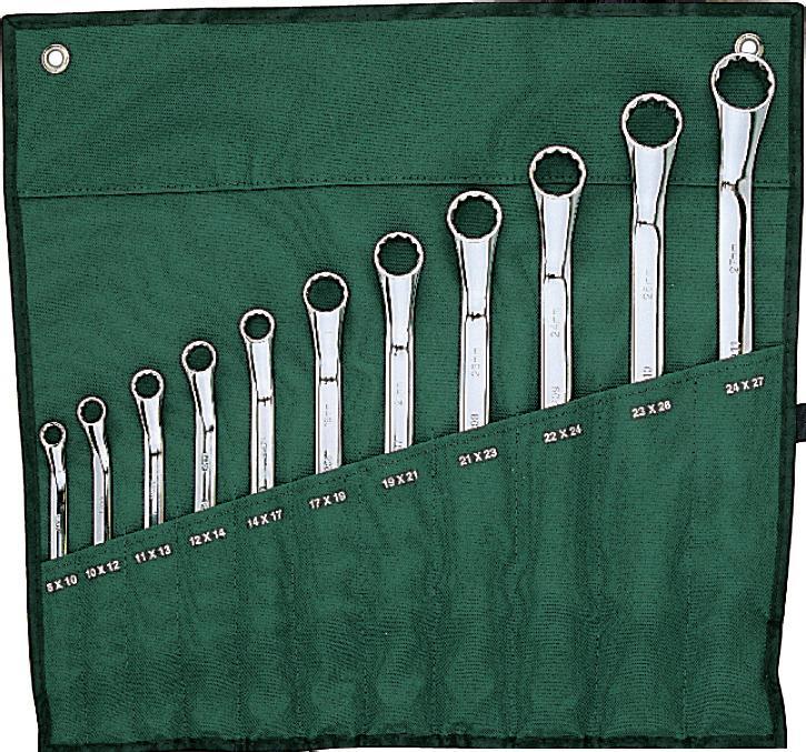 Набор ключей SATA 11пр. 0902898298130Набор Sata - это необходимый предмет в каждом доме и автомобиле. Набор прекрасно подойдет для проведения ремонтных работ. Все инструменты выполнены из высококачественной стали.В набор входят ключи метрические накидные размером: 8 х 10 мм, 10 х 12 мм, 11 х 13 мм, 12 х 14 мм, 14 х 17 мм, 17 х 19 мм, 19 х 21 мм, 21 х 23 мм, 22 х 24 мм, 23 х 26 мм, 24 х 27 мм.