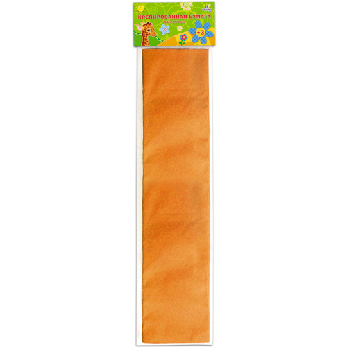 Бумага крепированная Unnikaland, цвет: оранжевыйКБ031Крепированная бумага Unnikaland отлично подойдет для упаковки хрупких изделий, при оформлении букетов и создании сложных цветовых композиций, для декорирования и других оформительских работ. Бумага обладает повышенной прочностью и жесткостью, хорошо растягивается, имеет жатую поверхность.Кроме того, крепированная бумага такая яркая и необычная, широко применяется для создания всевозможных ручных поделок. Превосходный повод увлечь ребенка квиллингом, развивая интерес к художественному творчеству, эстетический вкус и восприятие. Увеличивая желание делать подарки своими руками, воспитывая самостоятельность и аккуратность в работе, такая бумага поможет вашему ребенку раскрыть свои таланты.