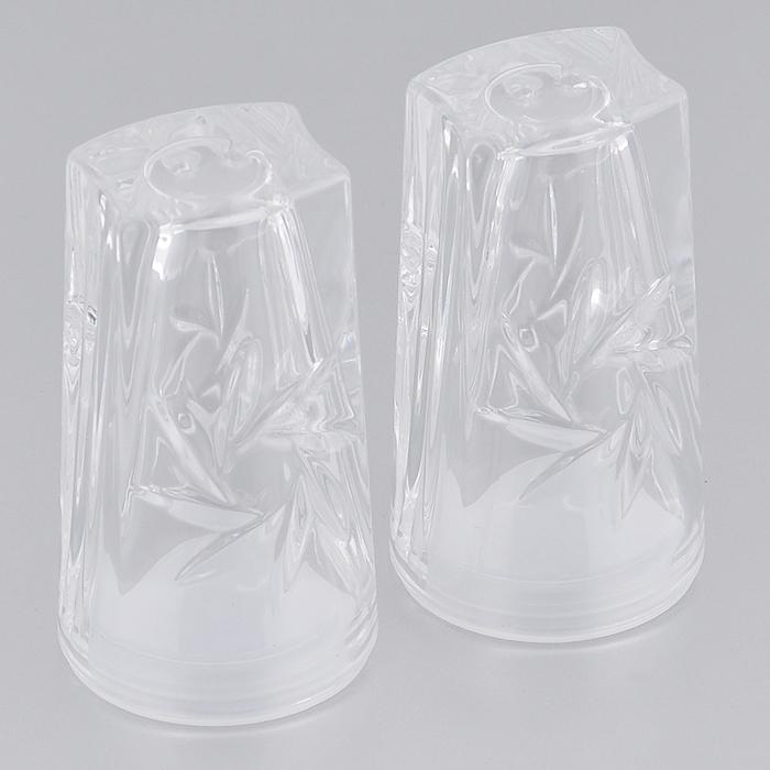 Набор для специй Crystal Bohemia Мельница, 2 предметаNL18536/18537Набор для специй Crystal Bohemia Мельница, изготовленный из высококачественного хрусталя с пластиковой крышкой, состоит из солонки и перечницы. Емкости изящной формы оформлены оригинальным рельефом. Солонка и перечница легки в использовании: стоит только перевернуть емкости, и вы с легкостью сможете поперчить или добавить соль по вкусу в любое блюдо.Набор для специй Crystal Bohemia Мельница будет прекрасным украшением вашего стола. Высота емкости: 7,5 см.Диаметр основания: 4,2 см.